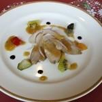 32911946 - 合鴨と白ねぎ アンチョビ風味のビネグレット