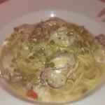 ピッコロティガー - 牡蠣のリングイネ オイルベース