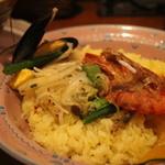 マジックスパイス - 海老、ムール貝、ほたてなど魚介たっぷり