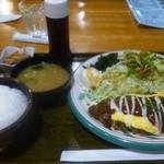 ペリカンレスト - ハンバーグ定食