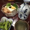 亀寿庵 - 料理写真:ぬる燗、やっこ