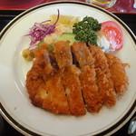 栃木カントリークラブ レストラン - ロースカツ