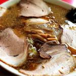 らーめんの土佐屋 - 背脂チャーシュー麺