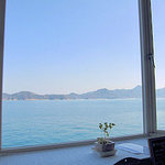 喫茶&創作 海路 - オーシャンビューの風景