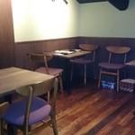 味人 - 新しく増設されたお2階のテーブル席