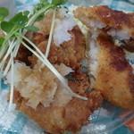 March - 日替りランチ(鶏唐みぞれ&白身魚のフライ)¥880