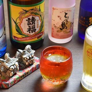 泡盛・黒糖焼酎・オリオン生ビール
