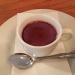 クチーナ・カーサ - 紫芋のプリン