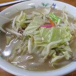 タケシタベーカリー - ローカルテレビ番組で、人気のメニューで1日100食出るって言ってたチャンポン!