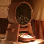 麻布 かどわき - 金魚の水槽