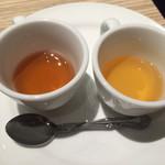 アネア カフェ - パンケーキのソース (ハニー、メイプル)