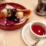 エスプレッソカフェ カフェラ - クレール カラメル洋梨とチェリー