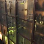 鉄板焼&ワイン KAi 回 - 入り口の下駄箱 '14 11月上旬