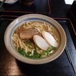 "Shureisoba - シンプルな""守礼そば""。抜群の美味しさです。"