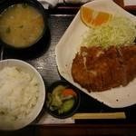 32937293 - ロースカツ定食1500円