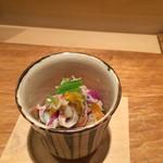 吉い - H26.10月 ズワイガニと柿とトンブリ♡