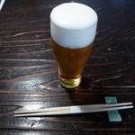 田舎 - エビス生ビール中600円