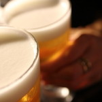 Q - ビールで乾杯