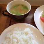 モモグミ - ごはん&スープ