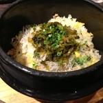 32939967 - じゃこと高菜のプレーン炒飯