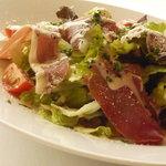 アルテーゴ ドゥショウズ - パルマ産生ハムのサラダ