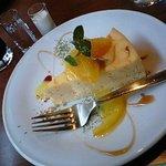 カフェ・トレド - オレンジのチーズケーキ
