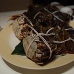 メゾン・ド・ユーロン - 活上海蟹(縛られていますが、動いています!) 2014.11.2x