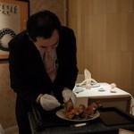 メゾン・ド・ユーロン - 蒸し上がりアツアツをその場で解体! 2014.11.2x
