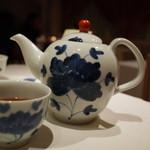 メゾン・ド・ユーロン - デザートにはほんのり甘~いお茶が 2014.11.2x