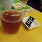スプリングノート - 南果玄米茶とチョコでございます