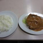 肉のますゐ - サービストンカツ(ライス付き)350円