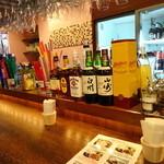 渋谷 ガパオ食堂 - カウンター席に着席です