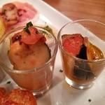 iL  PRIMO - 水茄子と昆布のマリネ