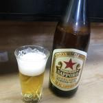 よしの - 瓶ビール。