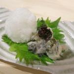 32944226 - 牡蠣の塩辛680円。広島産の小ぶりの牡蠣。