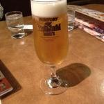ジョリーパスタ - 生ビール<中>(490円+税)