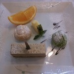 レストラン 食楽工房 - コース デザート