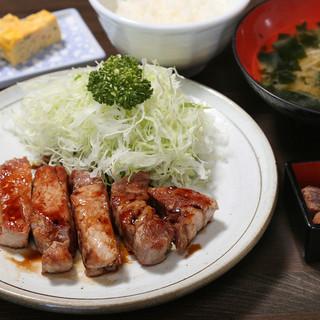 「漁師のトンテキ定食」1,260円