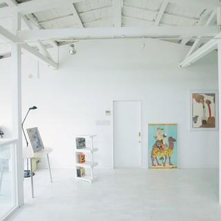 2Fはアートなギャラリー空間