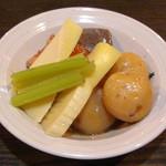 ひだりうま アンド エイワン - 若竹煮