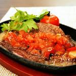 セレブ・デ・トマト - 国産牛ヒレステーキ