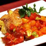 セレブ・デ・トマト - 地鶏もも肉のグリル