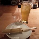 sumibiyakinomisekinnokura - 緑茶ハイ