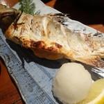 海鮮 居酒屋 凛火 - フッコ(スズキの幼魚)塩焼き