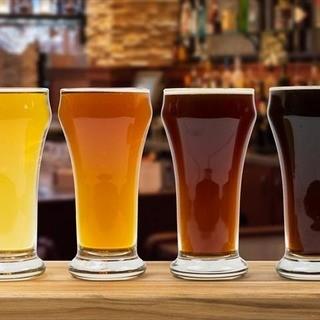 こだわりの生樽クラフトビールが常備16種類!