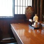 みのり - カウンター中央に座り、撮った左側
