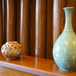 みのり - こんな陶器の花器もありました