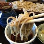 みのり - 宗太鰹、鯖などの節を合わせて作られるそばつゆとの相性はいいです