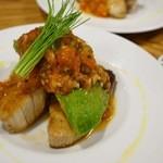 サカナバル グリル - 鰤とアボカドのステーキ