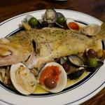 サカナバル グリル - 本日鮮魚のアクアパッツァ
